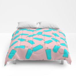 CUTE SUMMER PASTEL ICE CREAM PATTERN Comforters