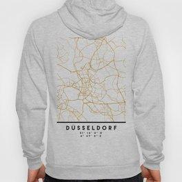 DÜSSELDORF GERMANY CITY STREET MAP ART Hoody