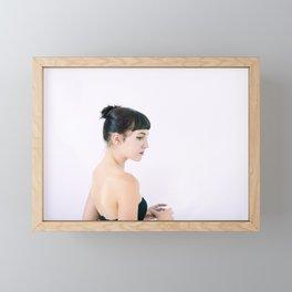 Morgan Portrait Framed Mini Art Print