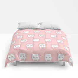 Pink yet still Hardy Comforters