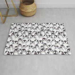 Penguin pattern Rug