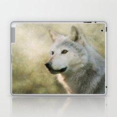 The White Wolf Laptop & iPad Skin