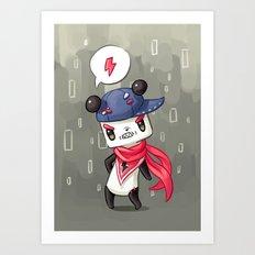 Panda 4 Art Print