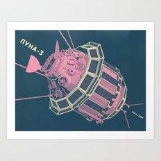 Luna-3 Art Print