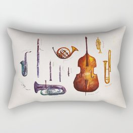 Wind Orchestra Rectangular Pillow