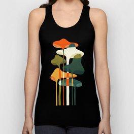 Little mushroom Unisex Tank Top