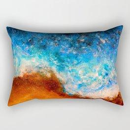 Timelessness - Original Abstract Art by Vinn Wong Rectangular Pillow