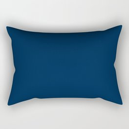 Oxford Blue - solid color Rectangular Pillow