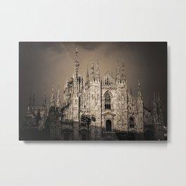 Duomo of Milan, Cathedral in the center of Milan Metal Print