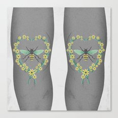 BEES KNEES Canvas Print