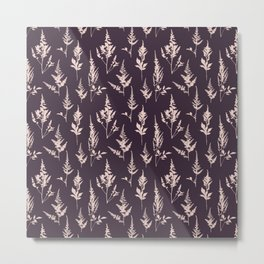 Astilbe Purple Metal Print