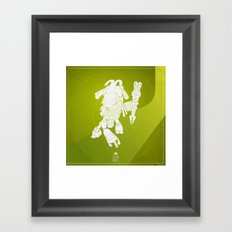 The hunter Framed Art Print