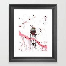 Red Dream Framed Art Print