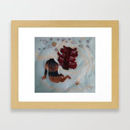 down to earth Framed Art Print