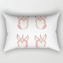 Unicorgi Rectangular Pillow