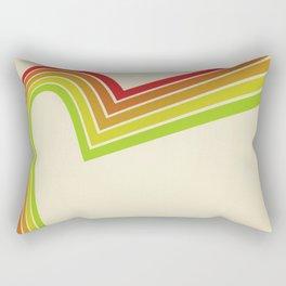 Line retro Rectangular Pillow