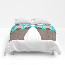 Lingeramas - Sexy Teal Lingerie Legging Pajamas Comforters