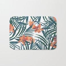 Tropical Lilies Bath Mat