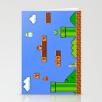 mario Stationery Cards featuring Mario by idaspark