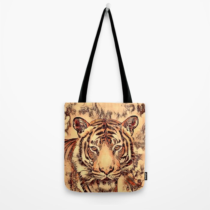 Animal ArtStudio- amazing Tiger Tote Bag