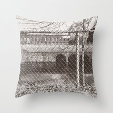 Beyond the Fence Throw Pillow