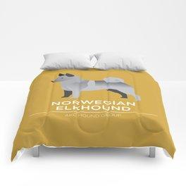 Norwegian Elkhound Comforters
