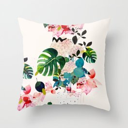 Jane Soleil Throw Pillow