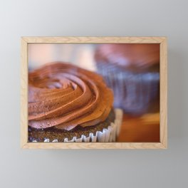 Sweet Dreams Chocolate Cupcakes Framed Mini Art Print