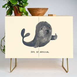 Seal Of Approval Credenza