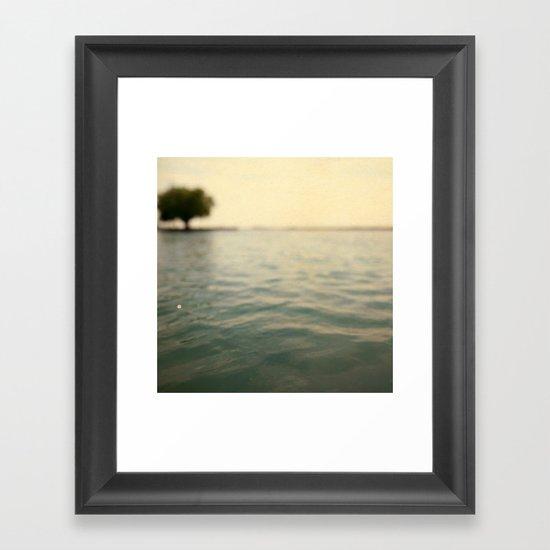 Sea Level Framed Art Print