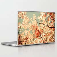 tree Laptop & iPad Skins featuring Pink by Olivia Joy StClaire