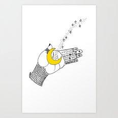 let go.. Art Print