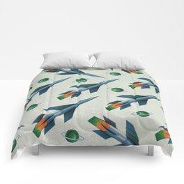 Rockets Pattern Comforters