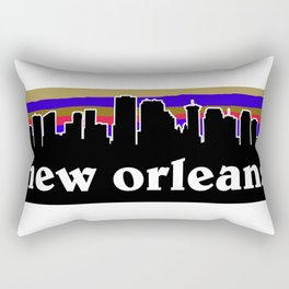 New Orleans Cityscape Rectangular Pillow