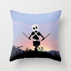 Deapool Kid Throw Pillow