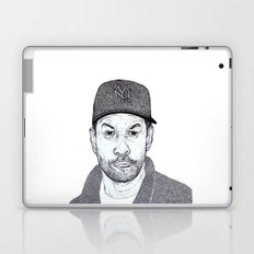 Denzel Washington Portrait Laptop & iPad Skin