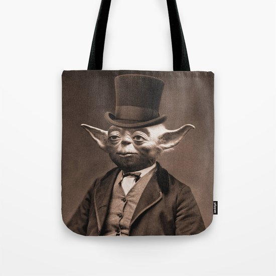 Portrait of Sir Yoda Tote Bag