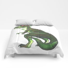 Pretty T-Rex Comforters