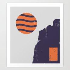 Tundra Art Print
