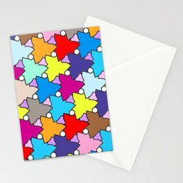 Spring Colors Geometric Stationery Cards