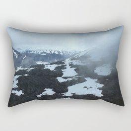 Alaska Glaciers Rectangular Pillow