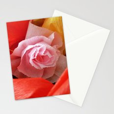 Paper handmade flowers Stationery Cards