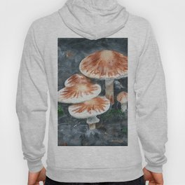 Family of mushrooms by Teresa Thompson Hoody