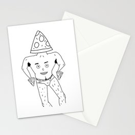 PIZZA PAPI (EYES OF THE CHEST 2) Stationery Cards