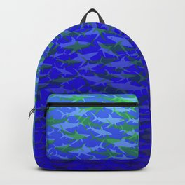 Sharks In Blue Waters Backpack