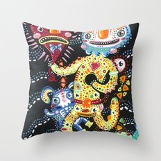 Happy Empty Throw Pillow