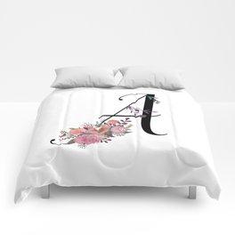 Modern Calligraphy Comforters