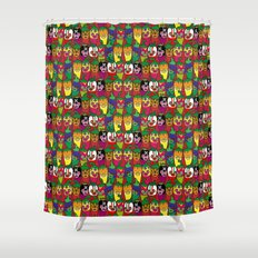 Red Hot Chili Pattern 02 Shower Curtain