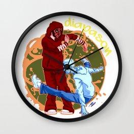 Duo danceur Diapason Wall Clock