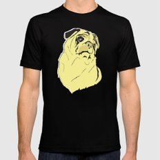 Shmoo the pug Mens Fitted Tee Black LARGE